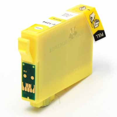 T1294 - Epson Yellow  High Capacity Compatible Inkjet Cartridge