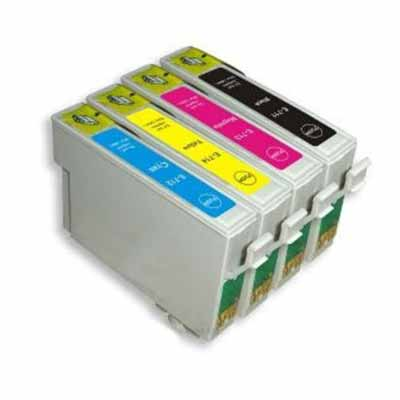 T1295 Multipack - Set of 4  Epson  High Capacity Compatible Inkjet Cartridges