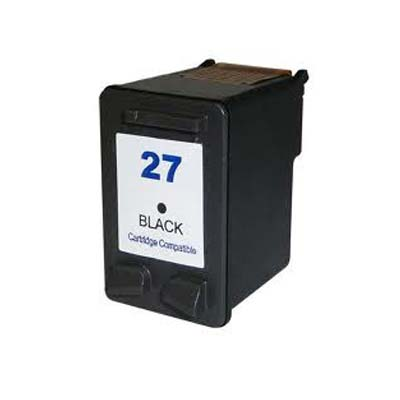 27 (C8727AE) - HP Black  Remanufactured Inkjet Cartridge