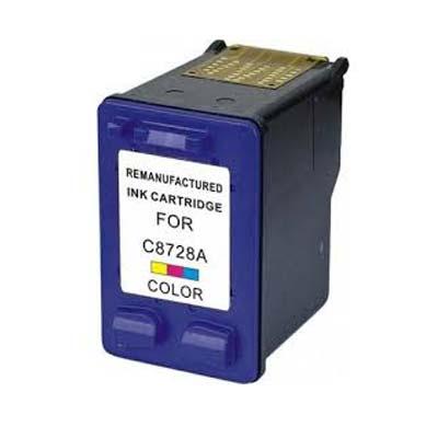 28 (C8728) - HP Colour  Remanufactured Inkjet Cartridge