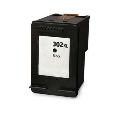 302XL - HP Black  High Capacity Remanufactured Inkjet Cartridge