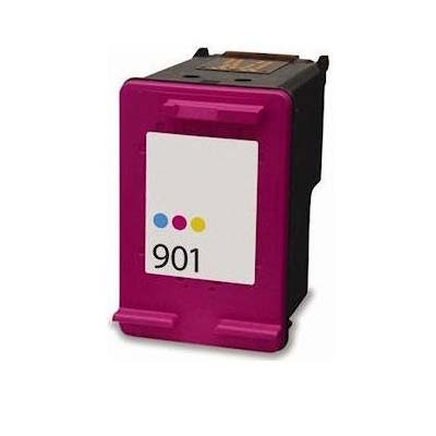 901 - HP Colour  Remanufactured Inkjet Cartridge