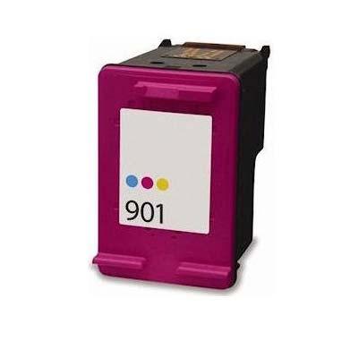 901 - HP Colour  Remanufactured Inkjet Cartridge