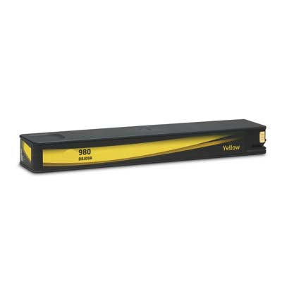 980 - HP Yellow  Compatible Inkjet Cartridge