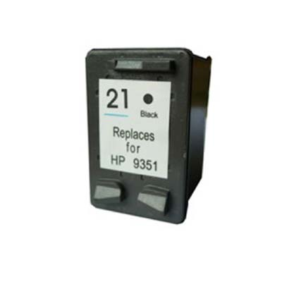 21 (C9351) - HP Black   Remanufactured Inkjet Cartridge