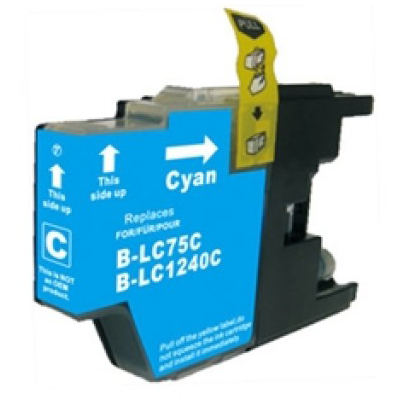 LC1240C - Brother Cyan   Compatible Inkjet Cartridge