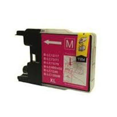 LC1240M - Brother Magenta   Compatible Inkjet Cartridge