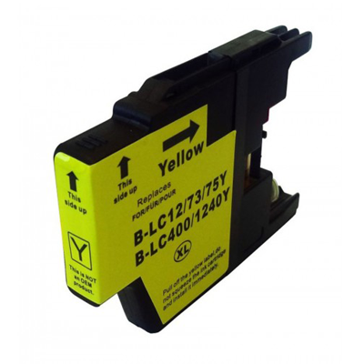 LC1240Y - Brother Yellow   Compatible Inkjet Cartridge