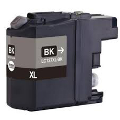LC127XL - Brother Black  High Capacity Compatible Inkjet Cartridge
