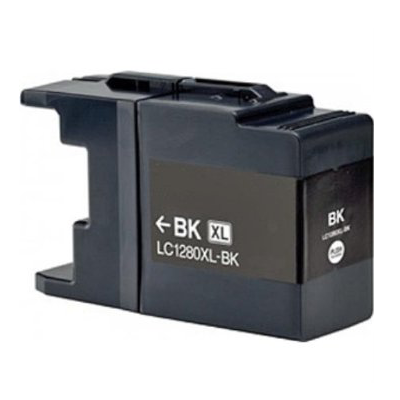 LC1280XL-BK - Brother Black  High Capacity Compatible Inkjet Cartridge