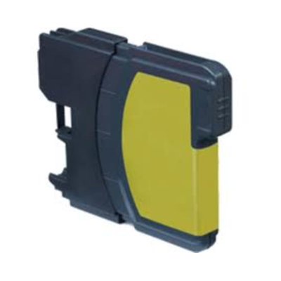 LC1280XL-Y - Brother Yellow  High Capacity Compatible Inkjet Cartridge