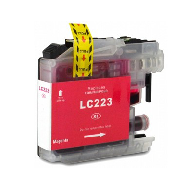LC223M - Brother Magenta  Compatible Inkjet Cartridge