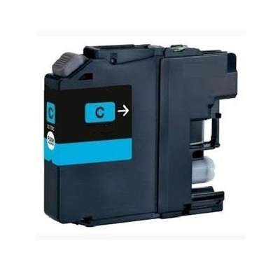LC225XLC - Brother Cyan  High Capacity Compatible Inkjet Cartridge