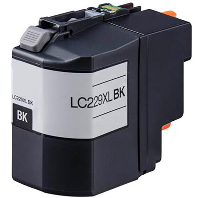 LC229XL-BK - Brother Black High Capacity Compatible Inkjet Cartridge