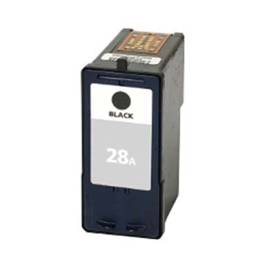 28A - Lexmark Black  Remanufactured Inkjet Cartridge