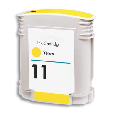 No 11 - HP Yellow  Compatible Inkjet Cartridge