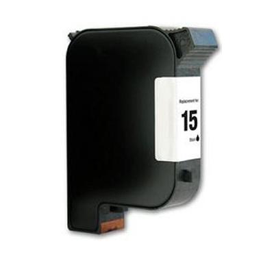 No 15 - HP Black High Capacity Remanufactured Inkjet Cartridge