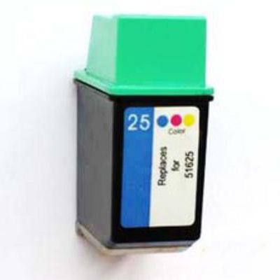 No 25 - HP Colour  Remanufactured Inkjet Cartridge