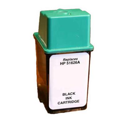 No 26 - HP Black  Remanufactured Inkjet Cartridge
