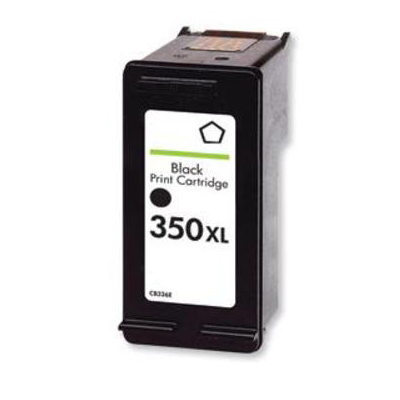 350XL CB336EE - HP Black  High Capacity Remanufactured Inkjet Cartridge