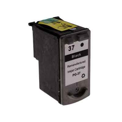 PG-37 - Canon Black  Remanufactured Inkjet Cartridge
