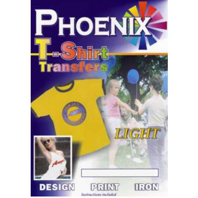 Phoenix Light T-Shirt Transfers Paper - 10 Pack