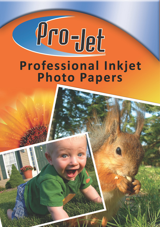Projet A4 (185 gsm) Pack Of  20 Sheets Of Gloss Photo Paper