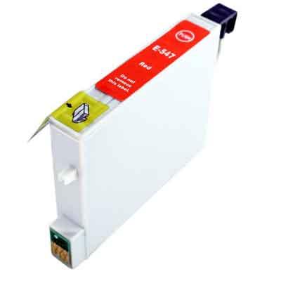 T0547 - Epson Red  Compatible Inkjet Cartridge