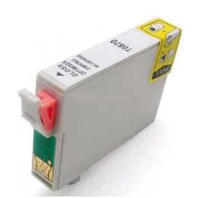 T0870 - Epson Gloss Optimiser  Compatible Inkjet Cartridge